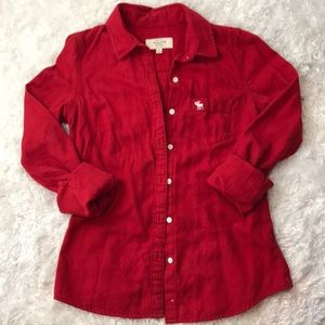 Abercrombie&Fitch long sleeve button down